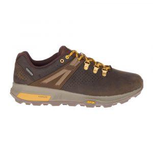 נעלי טיולים מירל לגברים Merrell Zion Peak Waterproof - חום