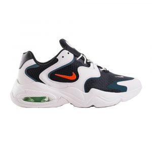 נעלי סניקרס נייק לגברים Nike Air Max 2X - לבן