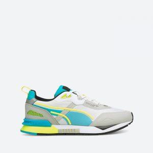 נעלי סניקרס פומה לגברים PUMA Mirage Tech Gray Violet - צבעוני/לבן
