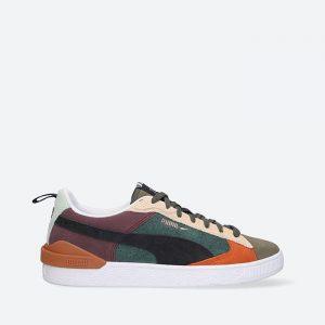 נעלי סניקרס פומה לגברים PUMA Suede Bloc WTFormstripe - צבעוני
