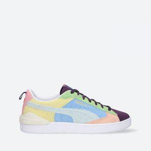 נעלי סניקרס פומה לגברים PUMA Suede Block WTFormstripe - צבעוני