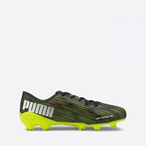 נעלי קטרגל פומה לגברים PUMA ULTRA 2.2  FG AG - ירוק