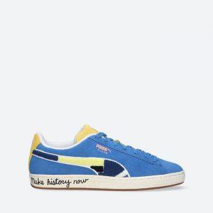 נעלי סניקרס פומה לגברים PUMA x Black Fives Suede Classic Star Sapphire - כחול