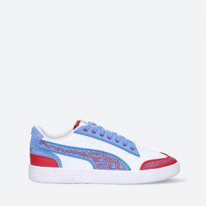 נעלי סניקרס פומה לגברים PUMA x Mr Doodle Ralph Sampson - כחול