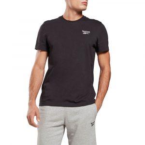 חולצת T ריבוק לגברים Reebok Classic - שחור