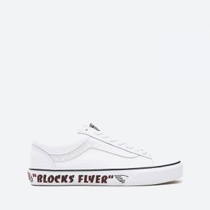 נעלי סניקרס ואנס לגברים Vans X Se Bikes Style 36 - לבן