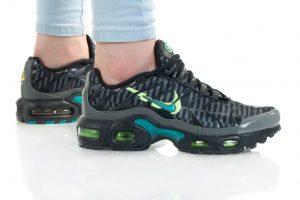 נעלי סניקרס נייק לנשים Nike AIR MAX PLUS GS - שחור