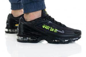 נעלי סניקרס נייק לגברים Nike AIR MAX PLUS III - שחור