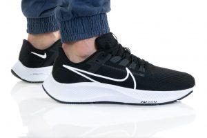 נעלי ריצה נייק לגברים Nike AIR ZOOM PEGASUS 38 - שחור/לבן