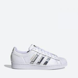 נעלי סניקרס אדידס לגברים Adidas Originals Superstar Transparent Pack - לבן/כסף