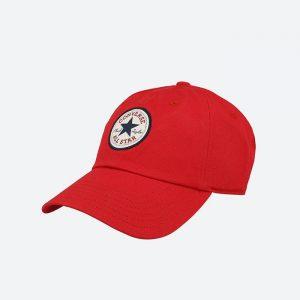כובע קונברס לגברים Converse Tipoff Chuck Baseball - אדום