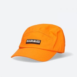 כובע נפפירי לגברים Napapijri F-Kuaola - כתום