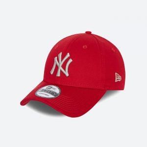 כובע ניו ארה לגברים New Era League Essential 9Forty - אדום