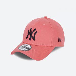 כובע ניו ארה לגברים New Era League Essential 9Forty - ורוד