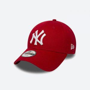 כובע ניו ארה לגברים New Era League Youth New York Yankees - אדום