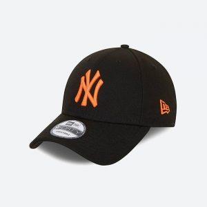 כובע ניו ארה לגברים New Era Pack 94Forty - שחור/כתום