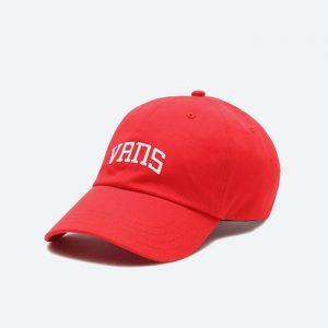 כובע ואנס לגברים Vans New Varsity Curve - אדום