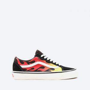 נעלי סניקרס ואנס לגברים Vans Old Skool 36 Dx - צבעוני כהה