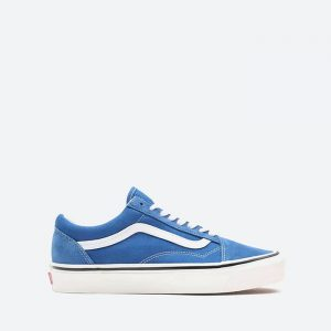 נעלי סניקרס ואנס לגברים Vans Old Skool 36 Dx - כחול