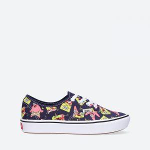 נעלי סניקרס ואנס לגברים Vans x SpongeBob ComfyCush Authent - צבעוני כהה