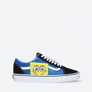 נעלי סניקרס ואנס לגברים Vans x SpongeBob Old Skool - כחול