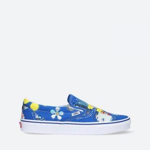 נעלי סניקרס ואנס לגברים Vans x Spongebob Classic Slip-On - כחול