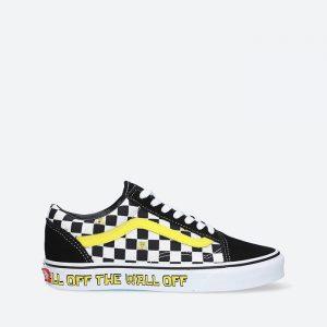נעלי סניקרס ואנס לגברים Vans x Spongebob Old Skool - שחור