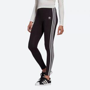 טייץ אדידס לנשים Adidas Originals Adicolor Classics 3-Stripes - שחור