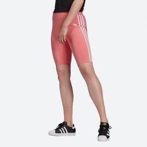טייץ אדידס לנשים Adidas Originals High-Waisted Primeblue - ורוד