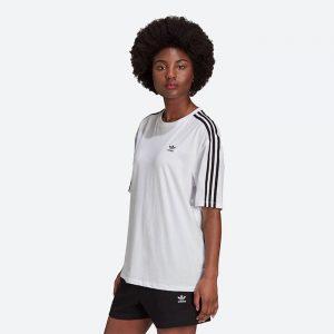 חולצת T אדידס לנשים Adidas Originals Oversized - לבן