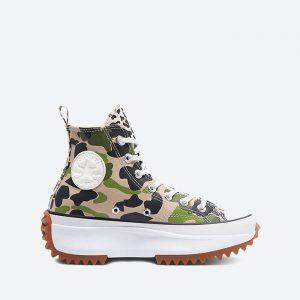 נעלי סניקרס קונברס לנשים Converse Run Star Hike Hi - ירוק