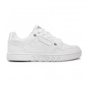 נעלי סניקרס גס לנשים Guess Julien2-A - לבן מלא