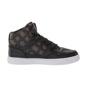 נעלי סניקרס גס לנשים Guess Justis2-A - שחור