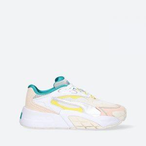 נעלי סניקרס פומה לנשים PUMA Hedra OQ Eggnog - צבעוני בהיר