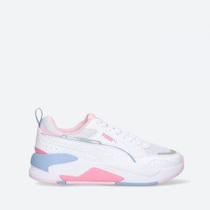נעלי סניקרס פומה לנשים PUMA X-Ray 2 Square Jr - לבן