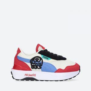 נעלי סניקרס פומה לנשים PUMA x Mr Doodle Cruise Rider - צבעוני