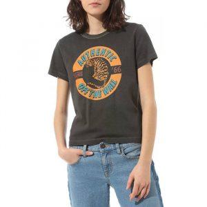 חולצת T ואנס לנשים Vans Charra Baby - שחור