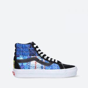 נעלי סניקרס ואנס לנשים Vans x SpongeBob Sk8-Hi 38 Dx Pw - כחול