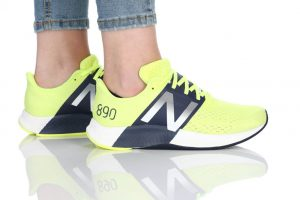 נעלי ריצה ניו באלאנס לנשים New Balance W890 - צהוב