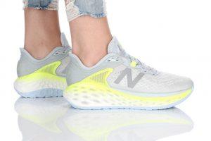 נעלי ריצה ניו באלאנס לנשים New Balance WMOR - אפור בהיר