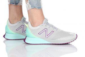 נעלי ריצה ניו באלאנס לנשים New Balance WFCEC - אפור בהיר