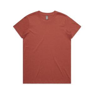 חולצת T אס קולור לנשים As Colour MAPLE - ברונזה
