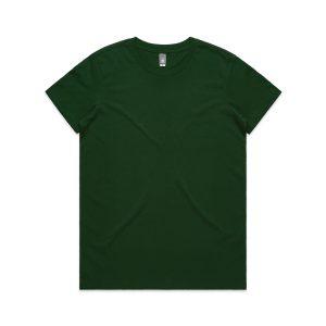 חולצת T אס קולור לנשים As Colour MAPLE - ירוק