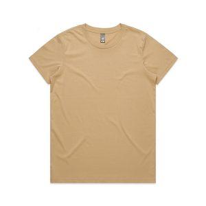 חולצת T אס קולור לנשים As Colour MAPLE - בז'