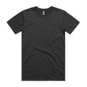 חולצת T אס קולור לגברים As Colour STAPLE HEATHER - אפור כהה