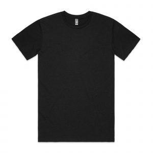 חולצת T אס קולור לגברים As Colour STAPLE HEATHER - שחור