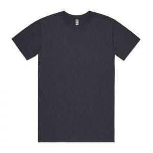 חולצת T אס קולור לגברים As Colour STAPLE HEATHER - כחול כהה