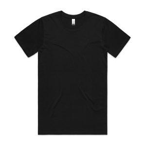 חולצת T אס קולור לגברים As Colour ORGANIC - שחור