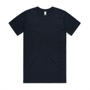 חולצת T אס קולור לגברים As Colour ORGANIC - כחול כהה