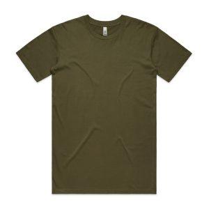 חולצת T אס קולור לגברים As Colour BASIC - ירוק זית
